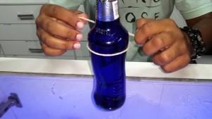 Como cortar garrafa de vidro e fazer copo