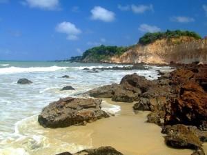 """Praia mais """"tranquila"""" , sem agitação"""