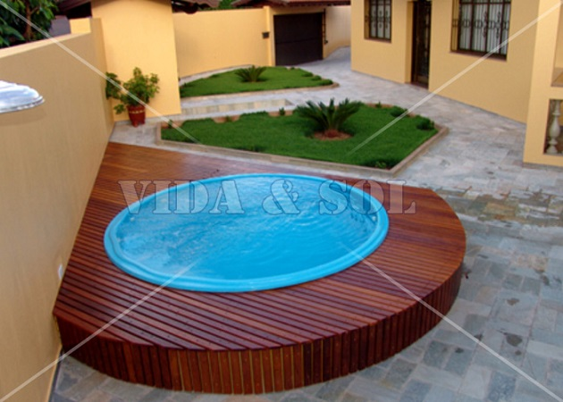 Fotos de modelos de piscinas residenciais projetos gr tis Fotos piscinas para espacios pequenos