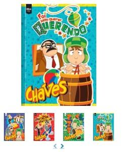 Cadernos do Chaves, para os amantes desse seriado