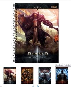 Cadernos do Diablo, para quem curte esse jogo