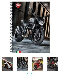 Cadernos de Motos , para que curte motos