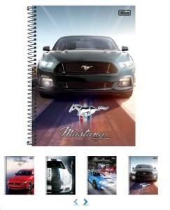 Cadernos de carros, para quem curte carros