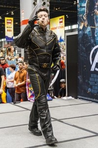 Wolverine Walking off Stage C2E2 2012 Marvel costume Contest
