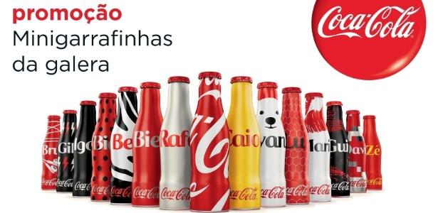 Minigarrafinhas Coca-cola