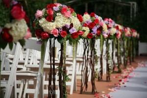 Não existe casamento que se preze sem flores