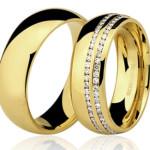 Modelos de alianças de casamento 2015