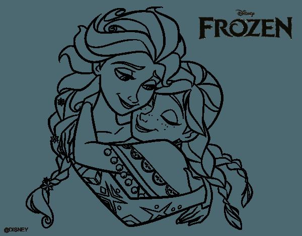Desenhos Para Colorir Da Frozen