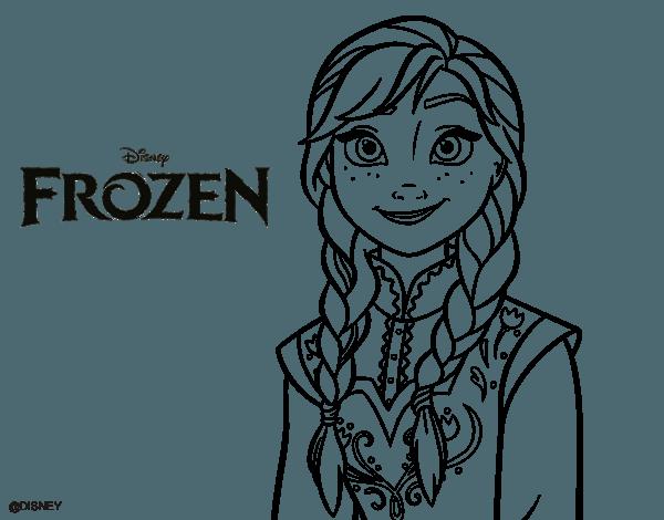 Dibujos Para Colorear E Imprimir De Frozen: Desenhos Para Colorir Da Frozen