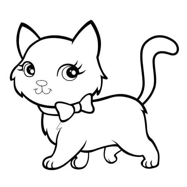 Desenho De Gato Para Colorir