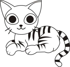 Desenho_de_gato_para_colorir_pintar_11