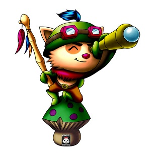 Como jogar de teemo League of Legends