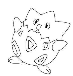 Desenhos para colorir e imprimir Pokemon 12
