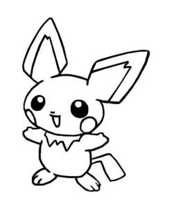 Desenhos para colorir e imprimir Pokemon 4