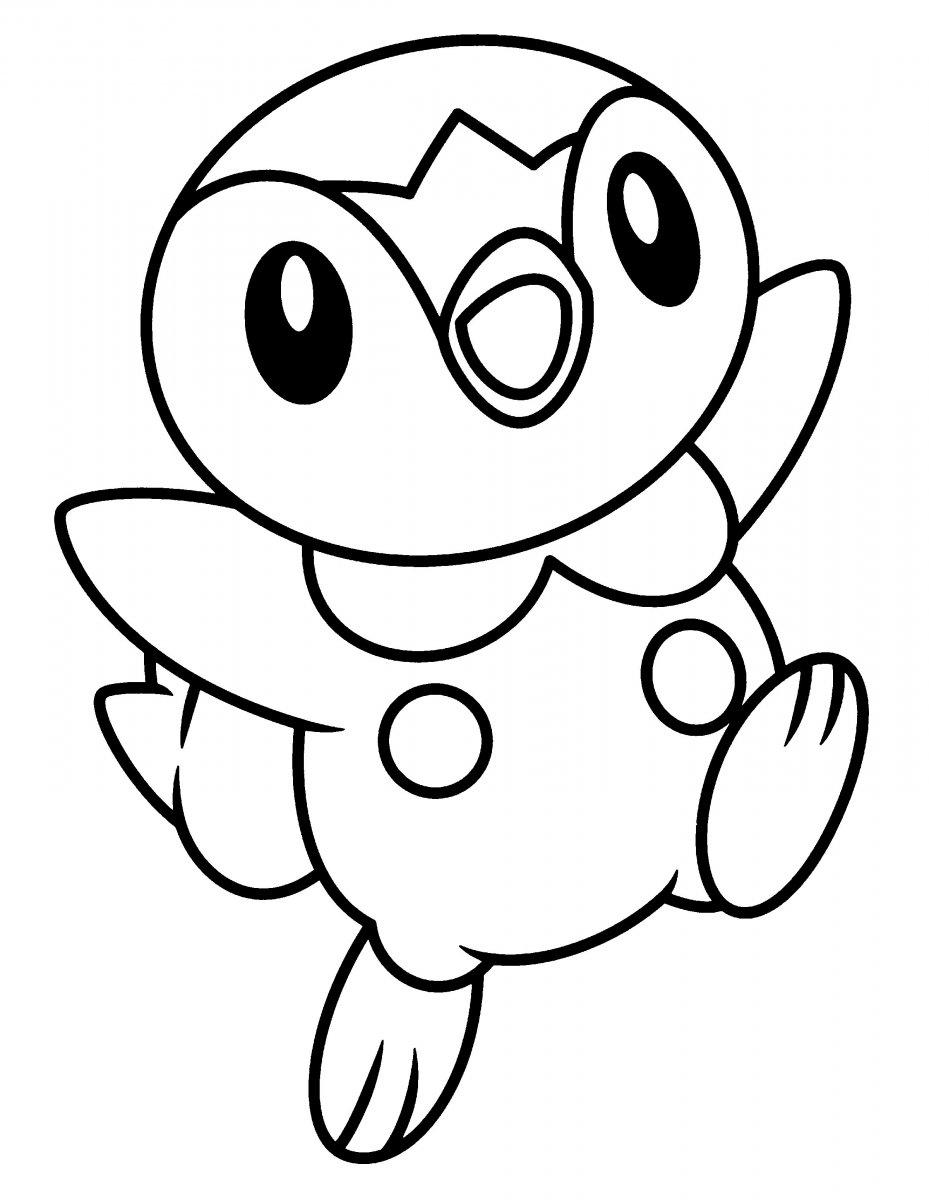 piplup coloring pages desenhos para colorir e imprimir pokemon