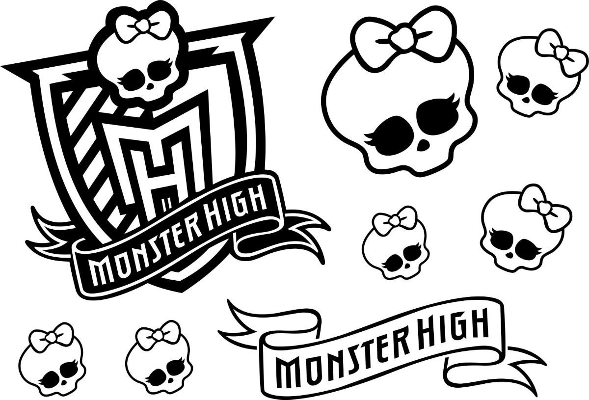 Desenho Monster High Para Colorir