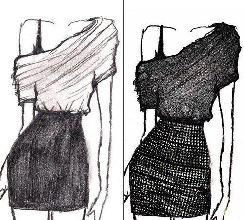 Dicas de como fazer desenhos de roupas