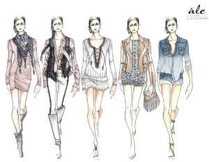 Dicas de como fazer desenhos de roupas 2