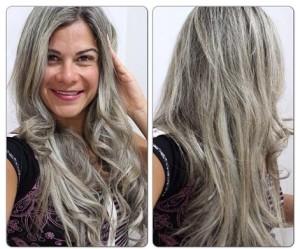 Fotos de cabelos loiro acinzentado 5