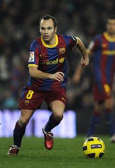 Melhores jogadas do Iniesta Barcelona