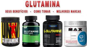 O que e glutamina e saiba como toma