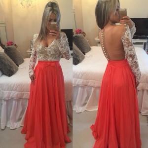 Confira fotos de vestido longos de formatura e vestidos longos de casamento 12