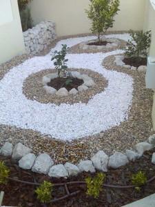 Fotos de paisagismo pedras para jardim 10