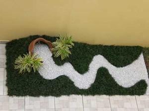 Fotos de paisagismo pedras para jardim 12