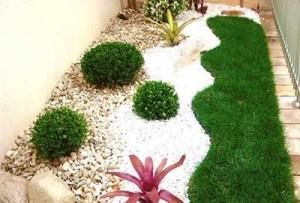 Fotos de paisagismo pedras para jardim 13