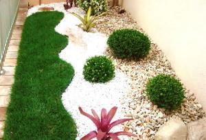 Fotos de paisagismo pedras para jardim 3
