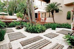Fotos de paisagismo pedras para jardim 4