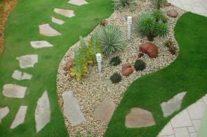 Fotos de paisagismo pedras para jardim 6