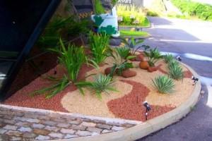 Fotos de paisagismo pedras para jardim 7