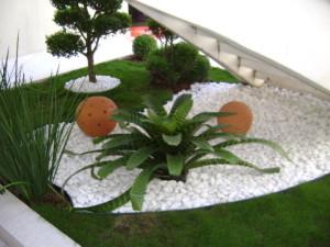 Fotos de paisagismo pedras para jardim 8