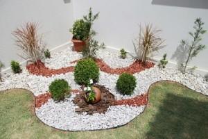 Fotos de paisagismo pedras para jardim 9