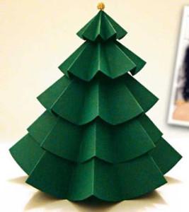 Como fazer arvore de natal artesanal 2