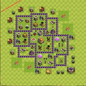 Dicas jogo clash of clans layout