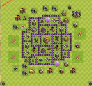 Dicas jogo clash of clans layout 2