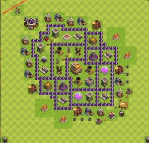 Dicas jogo clash of clans layout 4