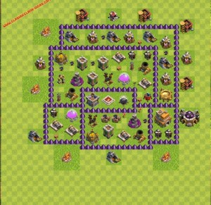 Dicas jogo clash of clans layout 5