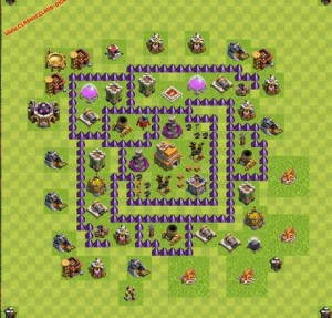 Dicas jogo clash of clans layout 6