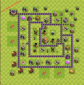 Dicas jogo clash of clans layout 7