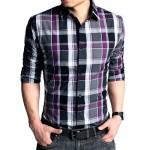 Fotos modelos camisas masculinas xadrez