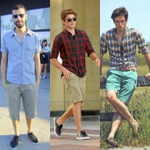 Fotos modelos camisas masculinas xadrez 10