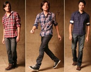 Fotos modelos camisas masculinas xadrez 11