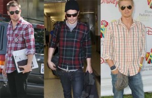 Fotos modelos camisas masculinas xadrez 2