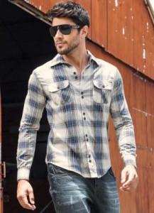 Fotos modelos camisas masculinas xadrez 4