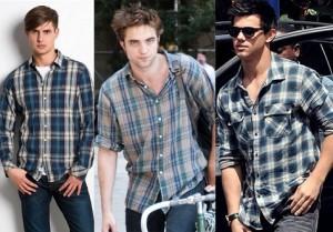 Fotos modelos camisas masculinas xadrez 5