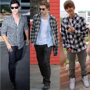 Fotos modelos camisas masculinas xadrez 8