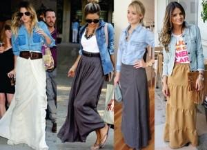 Fotos modelos de camisa jeans feminina 10